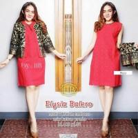 DRESS ELYSIA BALERO/KARDIGAN BATIK MODERN/FASHION WANITA