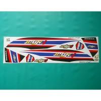 Stiker Motor Beat Pop Thailook Hitam
