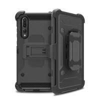 Huawei P20 Pro XGEAR Armor w/ Holster Case Full Protection Shockproof