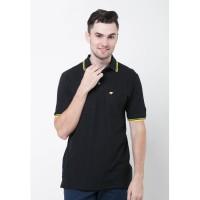 Jack Nicklaus Universal-3 Polo Shirt Pria Regular Fit Hitam