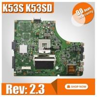 HOT! K53SD Motherboard Rev: 2.3 For Asus A53E A53S K53E K53S K53SD mo