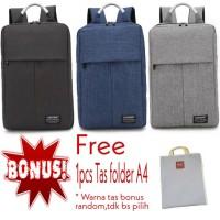 Tas Ransel Backpack Laptop 17 inch Formal Fashion Korea Impor