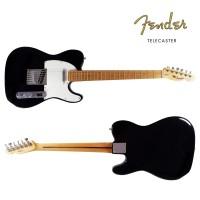Gitar Elektrik Fender Telecaster Black Custom Replica Guitar