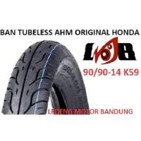 AHM 90/90-14 K59 Tubeless Ban Motor Matic Original Honda Federal