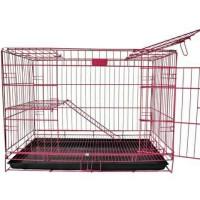 Kandang Lipat Tingkat Kucing Anjing Kelinci Size L Ukuran 75 x 45 x 50