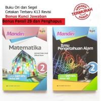 Paket Buku Mandiri Erlangga Kelas 8 IPA Matematika + Kunci Jawaban
