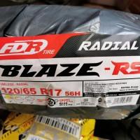 FDR 120/65-17 BLAZE RS BAN SOFTCOMPOUND UNTUK ROADRACE RING 17
