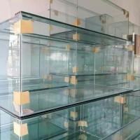 Aquarium Kaca P100 x L 40 x T 40, tebal kaca 10 sisi mm alas 10 mm