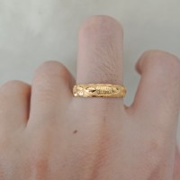 cincin emas asli model bangkok kadar 700 70% 18k 22 0,5gram 1gram 8 9