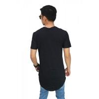 kaos longline t-shirt swag cowok pria hiphop rapper AS-04