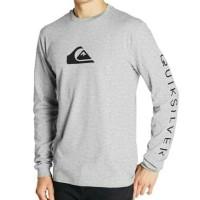 Kaos lengan panjang Baju Long Sleeve QUIKSILVER SURF CASUAL
