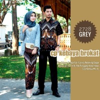 Couple Baju Kebaya Burkat Wisuda - Seragam Kebaya Baju pesta - Kebaya