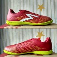 Terlaris Sepatu futsal specs Apache dark red 400656 original