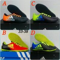 Promo Sepatu Futsal Anak Adidas Acee Size 34-38 Elegan