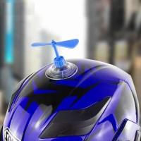 Baling Helm Helmet Bamboo Raft Suction Cup Baling Bambu Doraemon