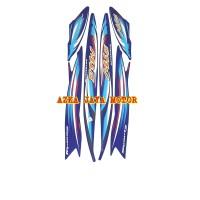 Striping / Sticker Yamaha Mio Sporty 2007 biru