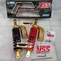 Shock Tabung Yss G-Plus Gold Series 330MM Vario 125 Vario 150 Beat Mio