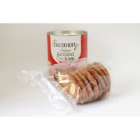 Chocomory Belgian Almond Cookies - Thin and Crispy