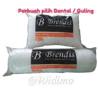 PROMO Bantal & Guling Silikon 100% / Bantal Brendis (per buah)
