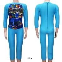 Baju Renang Diving Panjang Karakter Tayo Usia 4 - 7th Size M - XL