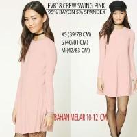 SALE Baju Branded Wanita Dress Merk Forever 21, Pink, Rust, Sage