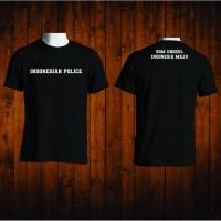 T-SHIRT KAOS INDONESIAN POLICE POLISI INDONESIA