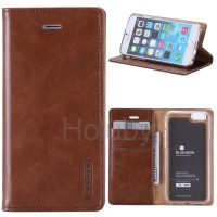 Flip Cover Samsung Galaxy S6 Flat Wallet Leather Case Classic Style