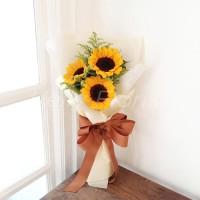 Buket Wisuda Bunga Matahari
