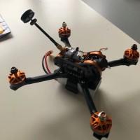 Eachine Tyro99 210 Mm DIY Versi FPV Racing RC Drone F4 OSD 30A BLHeli_