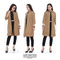 Outer Panjang Aromore Dien Brown Fit to XL