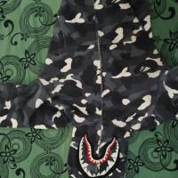 bape shark hoodie city camo