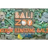 Voucher Tiket Bali Zoo - Admission Tiket Dewasa