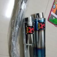 knalpot racing Yamaha new vixion