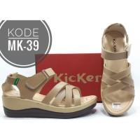 Sandal Wedges Kickers Wanita Kode MK-39