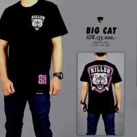 baju kaos distro pria wanita fkco Big Cat friday killer
