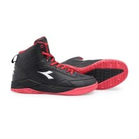 Sepatu Basket Diadora Spin Black Sports Olahraga Original