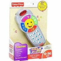 Dijual Fisher Price Click And Learn Remote Terjamin
