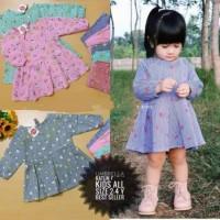 Tunik Umbrella 3-5 tahun Blouse Baju Atasan Sabrina Anak Perempuan Dr