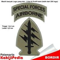Patch bordir emblem bordir badge special forces b