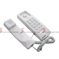 Sahitel S21 Pesawat Telepon Kabel Dinding Rumah Kantor - White