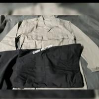 seragam pdl A1 jatah Polri/polisi/baju celana Pdlt/seragam Pdlt