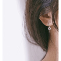 Dear Me - Sharon Earrings (S925 with Crystals & 18K Gold Plating)
