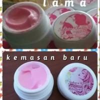 Baby pink sakura kanaai Cream Krim