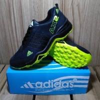 Sepatu ADIDAS AX2 HIGH Hitam Biru