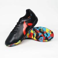 Sepatu Futsal Anak Ortuseight Forte Helios in JR Black