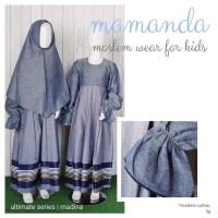 (1-12 tahun) Ultimate Series Madina Baju Muslim Gamis Anak Mamanda