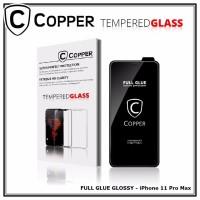 Iphone 11 Pro Max - COPPER Tempered Glass Full Glue PREMIUM Glossy