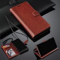 Asus Max Pro M1( Zb602KL )Leather Case Sarung Buku Kulit Flip Wallet