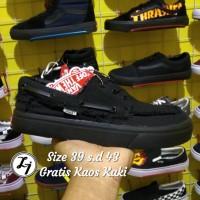 Sepatu Vans Zapato Full Black Quality Premium
