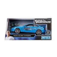Mia's Mia Acura Integra Blue (Fast & Furious) 1:24 Diecast, Jada Toys